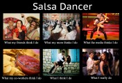 Rules of the salsa dance floor…