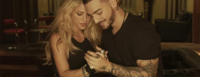 SHAKIRA AND MALUMA TOGETHER AGAIN