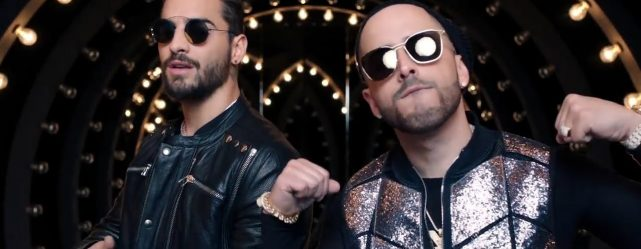 MALUMA AND YANDEL SING TOGETHER